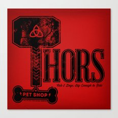Thors Pet Shop Canvas Print