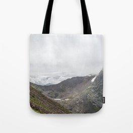 Ben Nevis Mountain Ridge Tote Bag