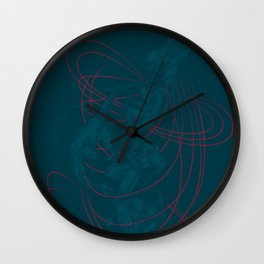 Shadow Mayhem Wall Clock