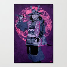Samurai Kitty Canvas Print