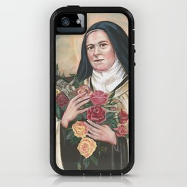 St Therese of the Child of Jesus Lisieux iPhone Case