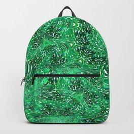 Green Kaleidoscope 2 Backpack