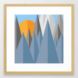 nai subah Framed Art Print