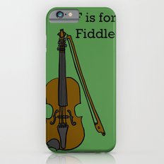 Fiddle, Typed Slim Case iPhone 6s