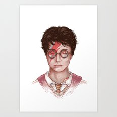 Harry Stardust Art Print