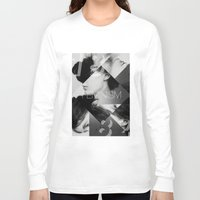 feminism Long Sleeve T-shirts featuring Handsome Feminism by Haus of Handsome