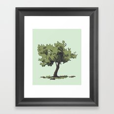 Life is Beautiful Olive Tree Framed Art Print