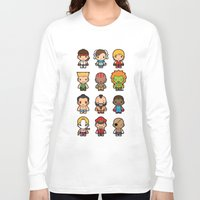 foo fighters Long Sleeve T-shirts featuring The Fighters by Papyroo