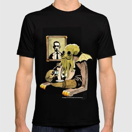 Cthulhu Taking Tea T-shirt