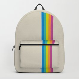 Rainbow - vintage photo Backpack