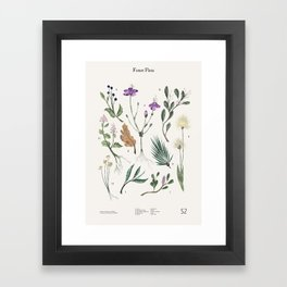 Shelter 2 - Forest Flora Framed Art Print