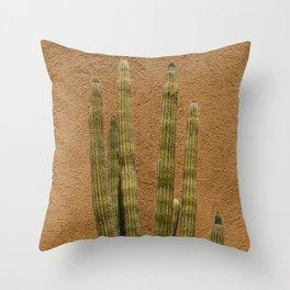 Cabo Cactus II Throw Pillow