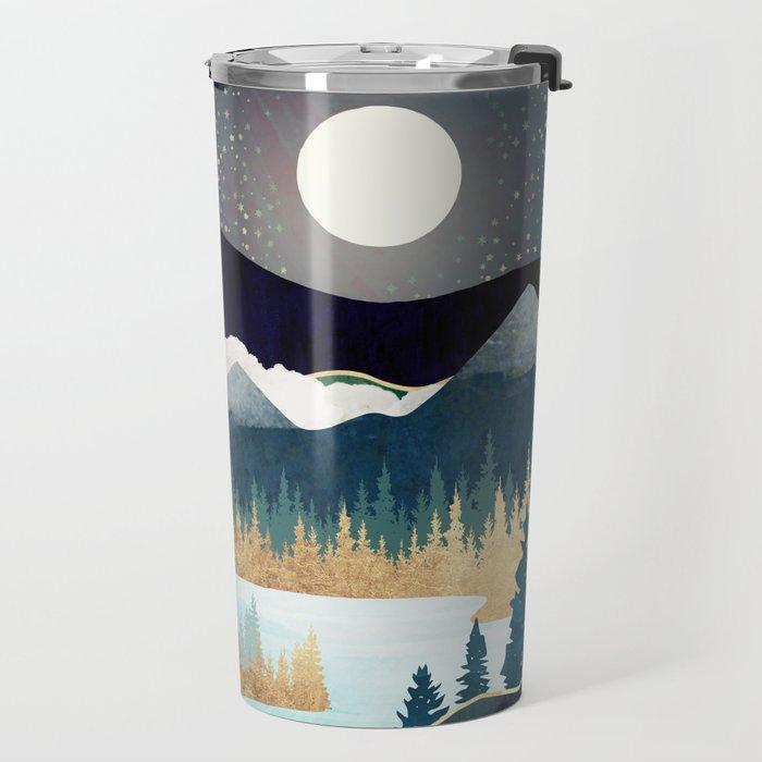 Star Lake Travel Mug