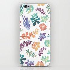 summertime succulents iPhone & iPod Skin