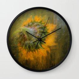 Turn Away Wall Clock