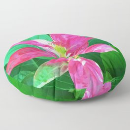 Flower #1 Color Floor Pillow