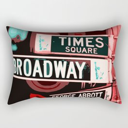 Streets of New York Rectangular Pillow
