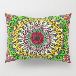 Koru Mandala Pillow Sham