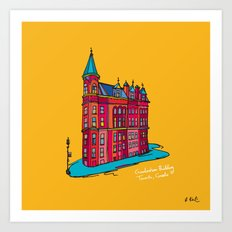 gooderham building Art Print