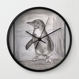 fairy penguin Wall Clock