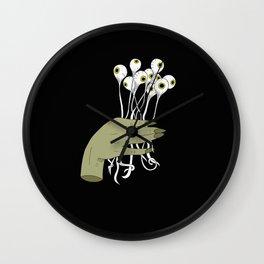 Bouquet of Eyes Wall Clock