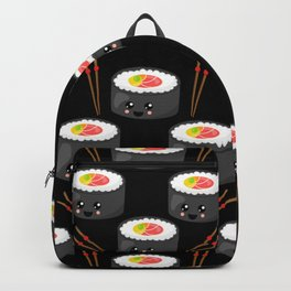Eat Me in black Backpack