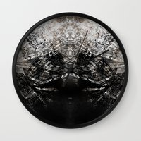 moth Wall Clocks featuring MOTH by ED design for fun