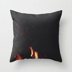 FIRE 4 Throw Pillow