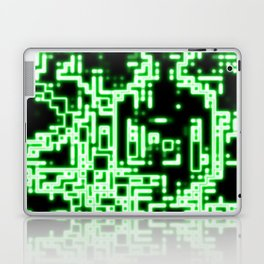 Neon abstract Laptop & iPad Skin