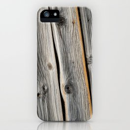 Wood Grain 2 iPhone Case