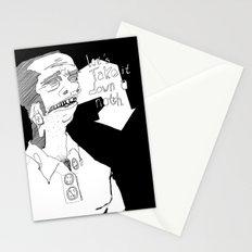 Let's take it down a notch. Stationery Cards