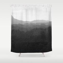 Laos Mountains Shower Curtain
