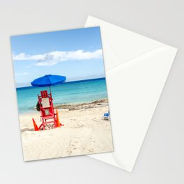 Let's go to the beach Stationery Cards
