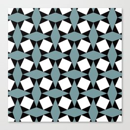 Geometric Pattern #188 (gray squares) Canvas Print