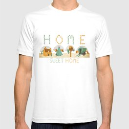 home sweet home T-shirt