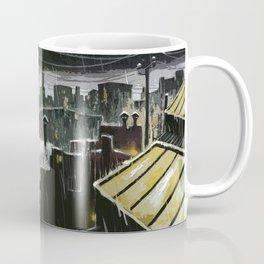 Rainy night in the factories Coffee Mug