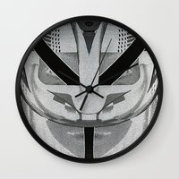 givenchy Wall Clocks featuring Givenchy tribal design by cvrcak