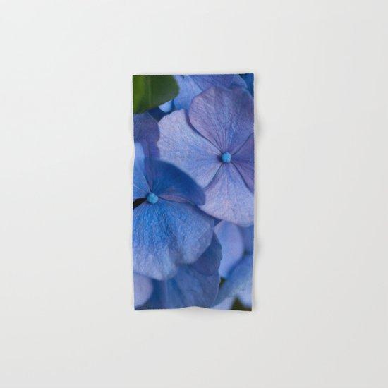 Blue Hydrangeas #2 # #art #society6 Hand & Bath Towel