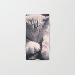 Sleepy Time Cat Hand & Bath Towel