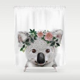 Koala Print Shower Curtain