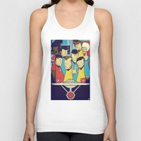 star Tank Tops featuring Star Trek by Ale Giorgini