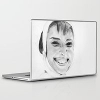 audrey Laptop & iPad Skins featuring Audrey by Belay