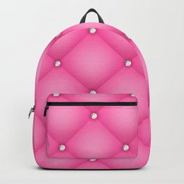 Luxury pink texture Backpack