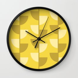 Lemon Slices in the Summer Sun Wall Clock