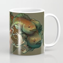 Smoking Fish Coffee Mug