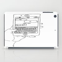 text iPad Cases featuring Text by CreatureContours