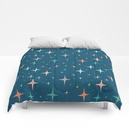 Stars in the night sky Comforters