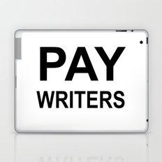 PAY WRITERS Laptop & iPad Skin