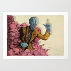 Infected 2016 Art Print