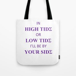 Sigma Tides Tote Bag